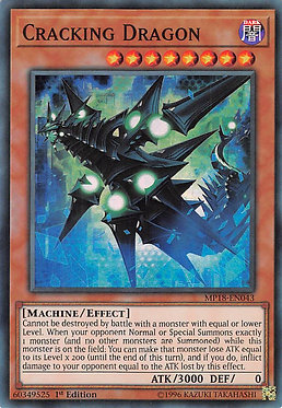 Cracking Dragon - MP18-EN043 - Super Rare