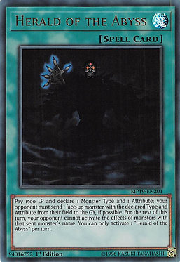 Herald of the Abyss - MP19-EN201 - Ultra Rare
