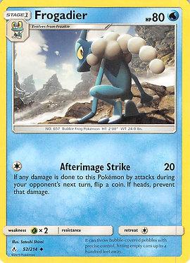 Frogadier - 52/214 - Uncommon