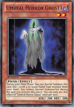 Umbral Horror Ghost - PRIO-EN010 - Common