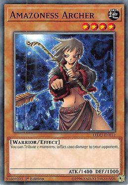 Amazoness Archer - LEDU-EN012 - Common