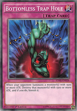 Bottomless Trap Hole - SDHS-EN038 - Common