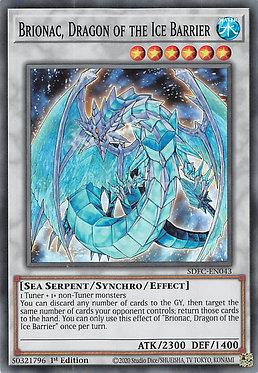 Brionac, Dragon of the Ice Barrier - SDFC-EN043 - Super Rare