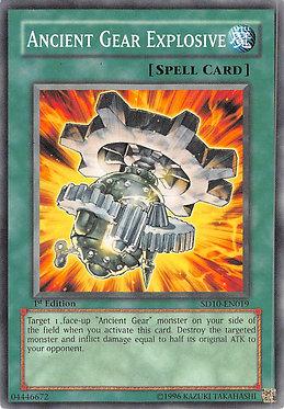 Ancient Gear Explosive - SD10-EN019 - Common