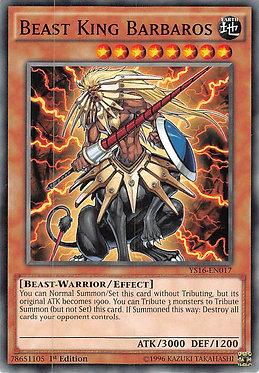 Beast King Barbaros - YS16-EN017 - Common