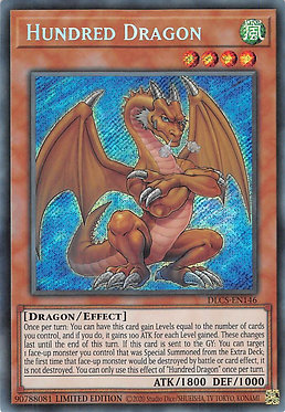 Hundred Dragon - DLCS-EN146 - Secret Rare