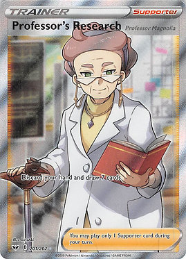 Professor's Research: Professor Magnolia - 201/202 - Full Art Ultra Rare