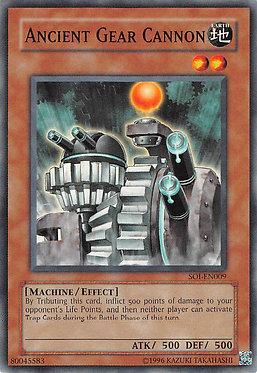 Ancient Gear Cannon - SOI-EN009 - Common