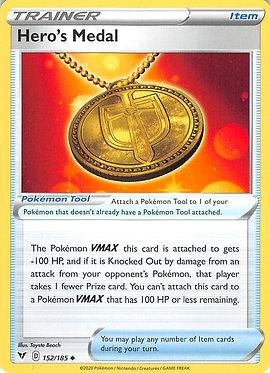 Hero's Medal - 152/185 - Uncommon