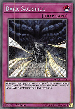 Dark Sacrifice - BLHR-EN056 - Secret Rare