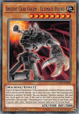 Ancient Gear Golem - Ultimate Pound - COTD-EN099 - Common