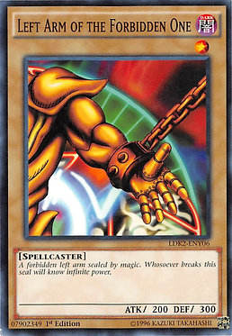 Left Arm of the Forbidden One - LDK2-ENY06 - Common