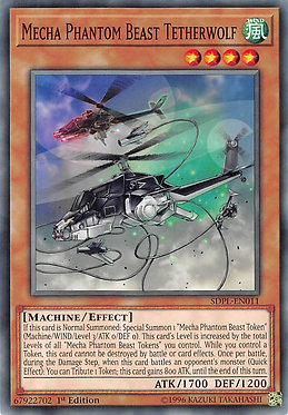 Mecha Phantom Beast Tetherwolf - SDPL-EN011 - Common