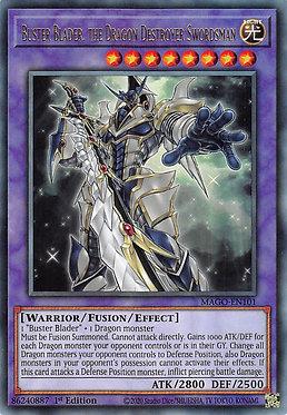 Buster Blader, the Dragon Destroyer Swordsman - MAGO-EN101 - Rare