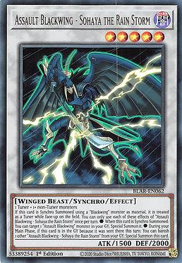 Assault Blackwing - Sohaya the Rain Storm - BLAR-EN062 - Ultra Rare