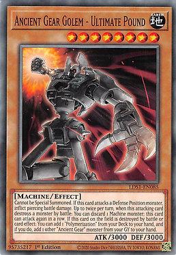 Ancient Gear Golem - Ultimate Pound - LDS1-EN085 - Common