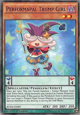 Performapal Trump Girl - BOSH-EN007 - Common