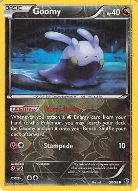 Goomy - 58/98 - Common Reverse Holo