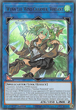 Wynn the Wind Charmer, Verdant - MP20-EN124 - Ultra Rare