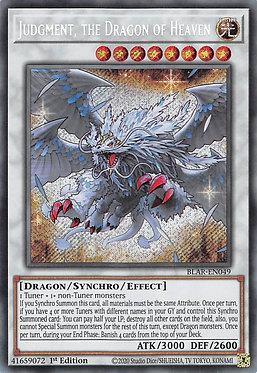 Judgment, the Dragon of Heaven - BLAR-EN049 - Secret Rare