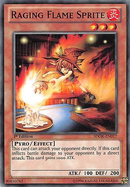 Raging Flame Sprite - SDOK-EN017 - Common
