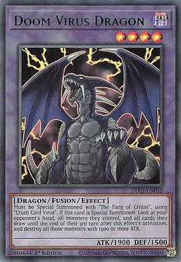 Doom Virus Dragon (Green) - DLCS-EN055 - Ultra Rare