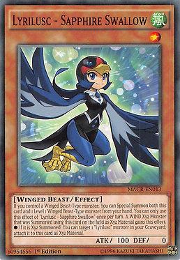 Lyrilusc - Sapphire Swallow - MACR-EN013 - Common