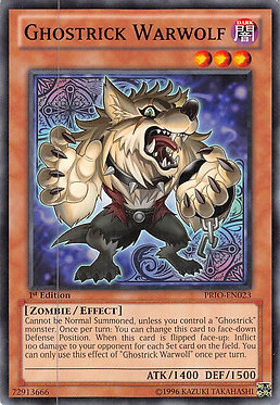 Ghostrick Warwolf - PRIO-EN023 - Common