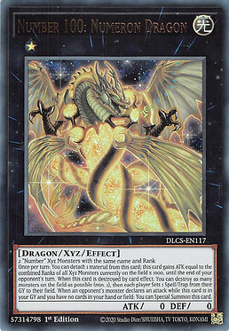 Number 100: Numeron Dragon - DLCS-EN117 - Ultra Rare