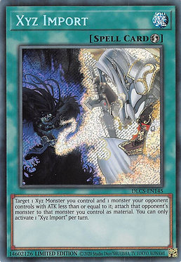 Xyz Import - DLCS-EN145 - Secret Rare