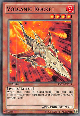 Volcanic Rocket - SDOK-EN013 - Common