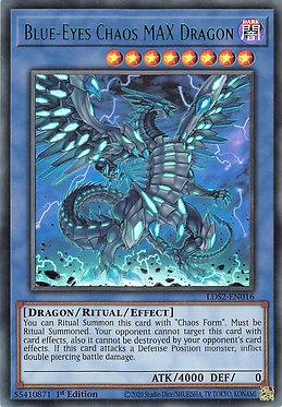 Blue-Eyes Chaos MAX Dragon (Green) - LDS2-EN016 - Ultra Rare