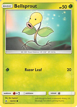 Bellsprout - 13/214 - Common