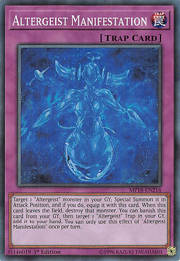 Altergeist Manifestation - MP18-EN216 - Super Rare