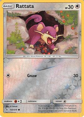 Rattata - 143/214 - Common Reverse Holo