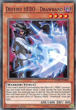 Destiny HERO - Drawhand - DANE-EN009 - Common