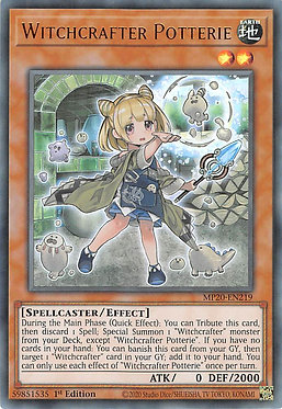 Witchcrafter Potterie - MP20-EN219 - Ultra Rare