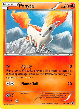 Ponyta - 14/83 - Common