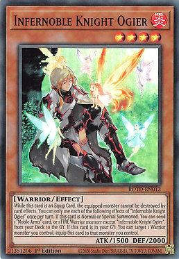 Infernoble Knight Ogier - ROTD-EN013 - Super Rare