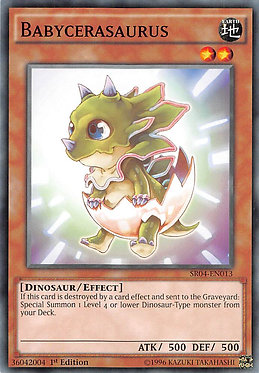 Babycerasaurus - SR04-EN013 - Common