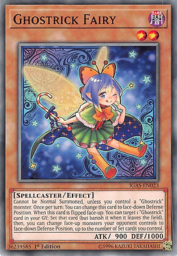 Ghostrick Fairy - IGAS-EN023 - Common
