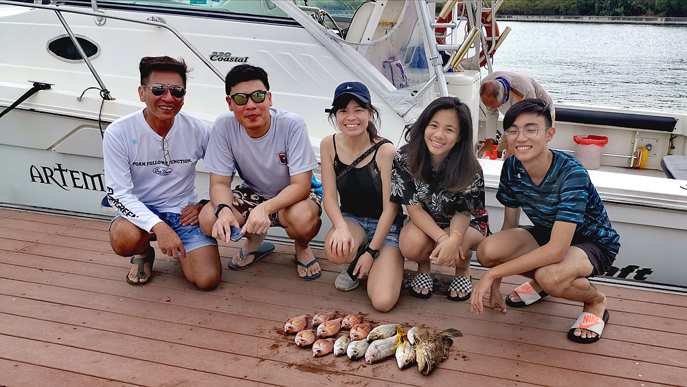 fishing charter Singapore