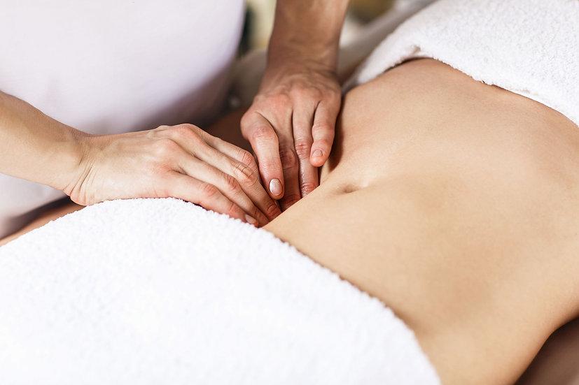 Soin du corps relaxant - Massage ventral abdominal Sarasvati