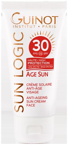 Crème Solaire Anti-Âge SPF30 - Formule Haute Protection pour le visage