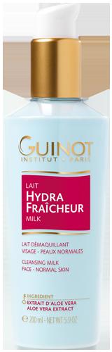Lait Hydra Fraicheur - Gel de lait démaquillant - Toutes peaux