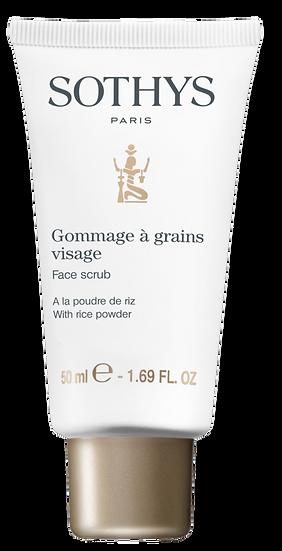 Gommage visage à grains - Exfoliant visage à grains