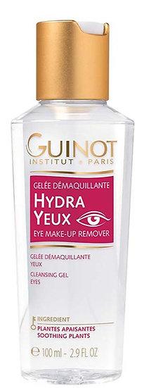 Guinot Hydra démaquillant yeux - Gelée démaquillante yeux sensibles