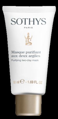 Masque absorbant - Masque purifiant aux deux argiles