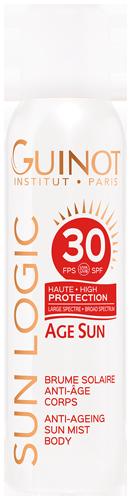 Brume Solaire Anti-Âge SPF30 - Formule Haute Protection pour le corps