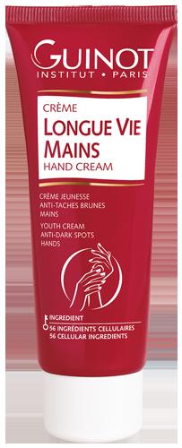 Longue Vie Mains - Crème Jeunesse Régénérante Anti-taches Brunes